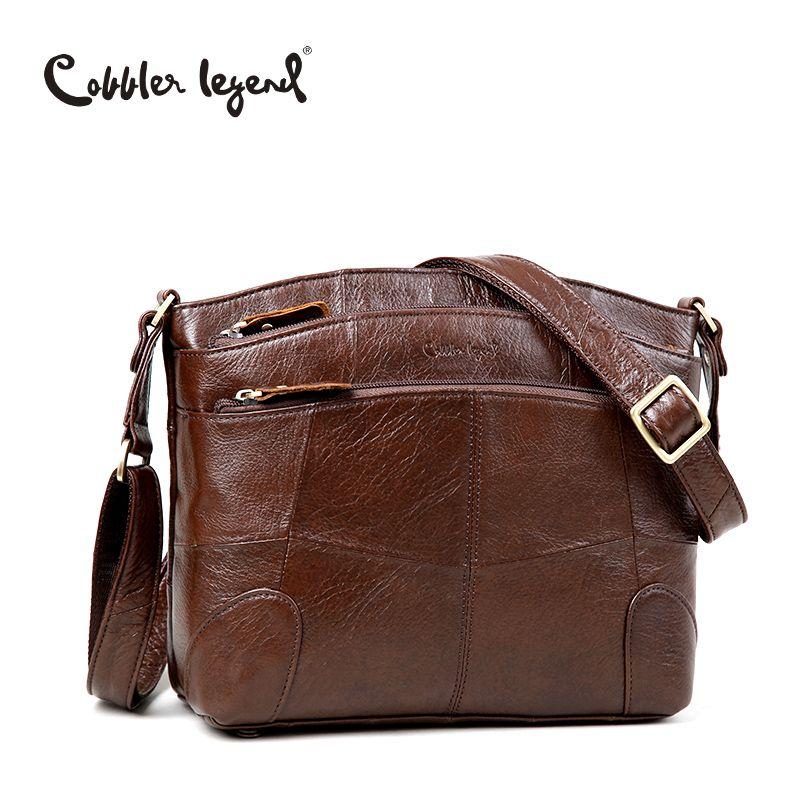 Cobbler Legend Original Brand Women Shoulder Bag Genuine Leather Ladies Crossbody Bags 2018 New Fashion Handbag For Female Bolsa