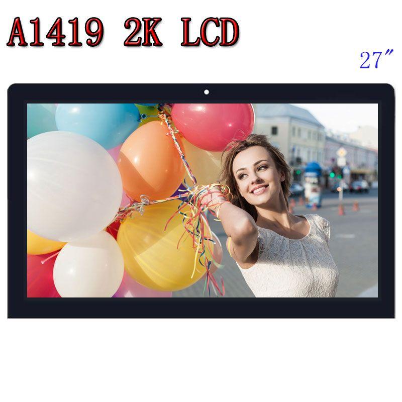 Original A1419 2 K LCD Screen mit glas montage LM270WQ1 SD F1 F2 Für iMac 27
