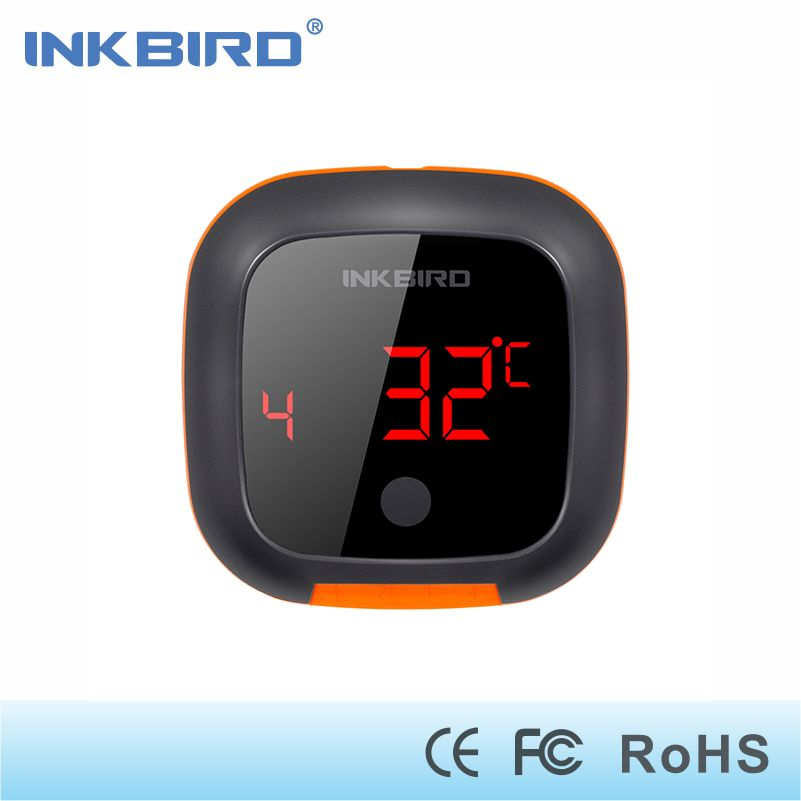 Inkbird IBT-4XS Digital Wireless Bluetooth Cooking Oven BBQ Grilling <font><b>Thermometer</b></font> With Two/Four Probe and USB rechargable battery