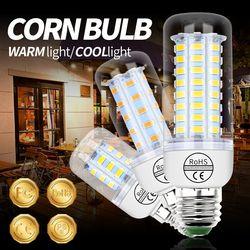 E27 Светодиодный Светильник Мозоли 220 V E14 лампочка лампы в форме свечи светодиодный GU10 bombillas светодиодный ампулы 5730 SMD домашнего освещения, 3 В...