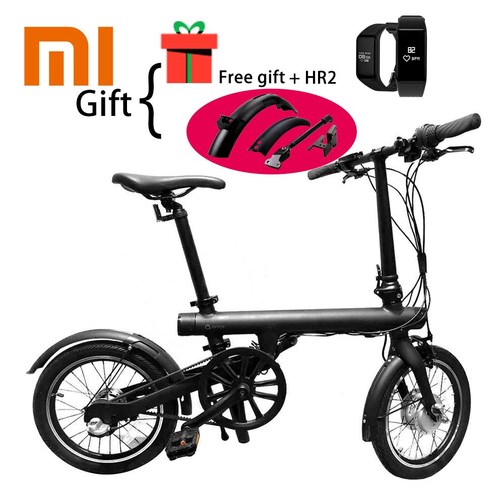 Bicycle Accessories as the gift Xiaomi QICYCLE EF1 Wireless Bluetooth Smart Bicycle Foldable Bike Torque Sensor Moped Aluminum