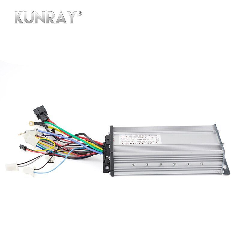 KUNRAY 2000W 60V DC 35A 15Mosfet Controller For Brushless BLDC Motor E-bike Electric Scooter Bicycle E-car Accessories Parts