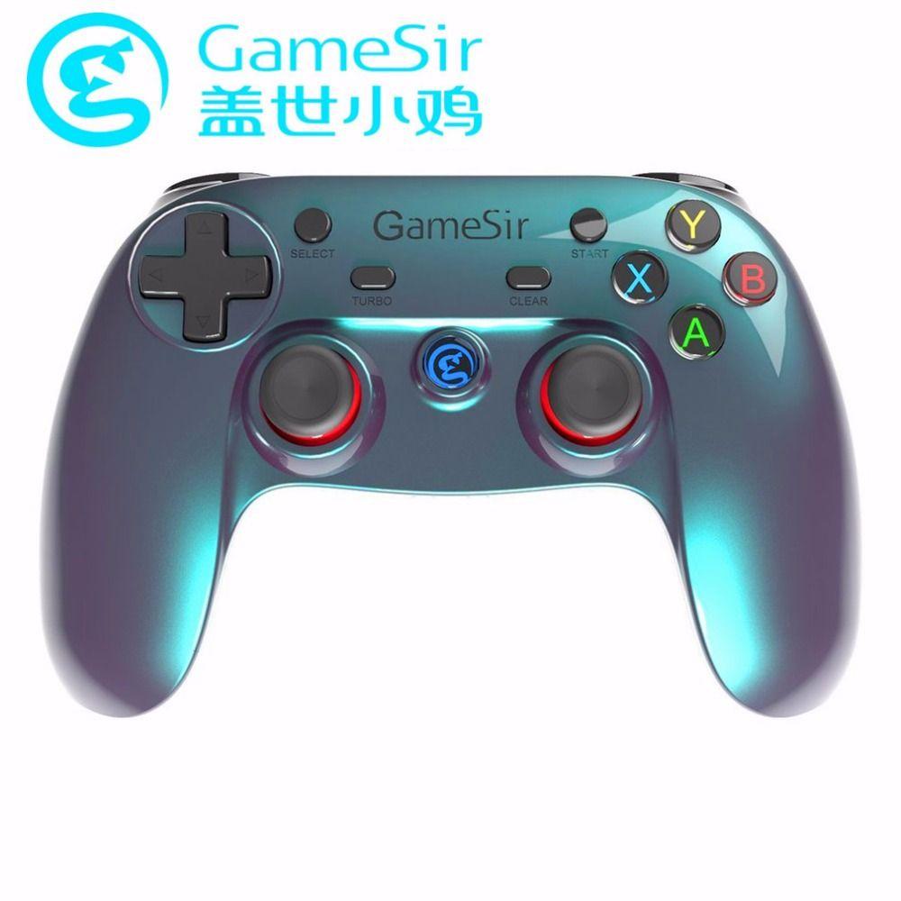 Gamesir коврик g3v Беспроводной Bluetooth 4.0 контроллер смартфон вибрации gampads для мобильного телефона для Android для ТВ Box PC VR игры