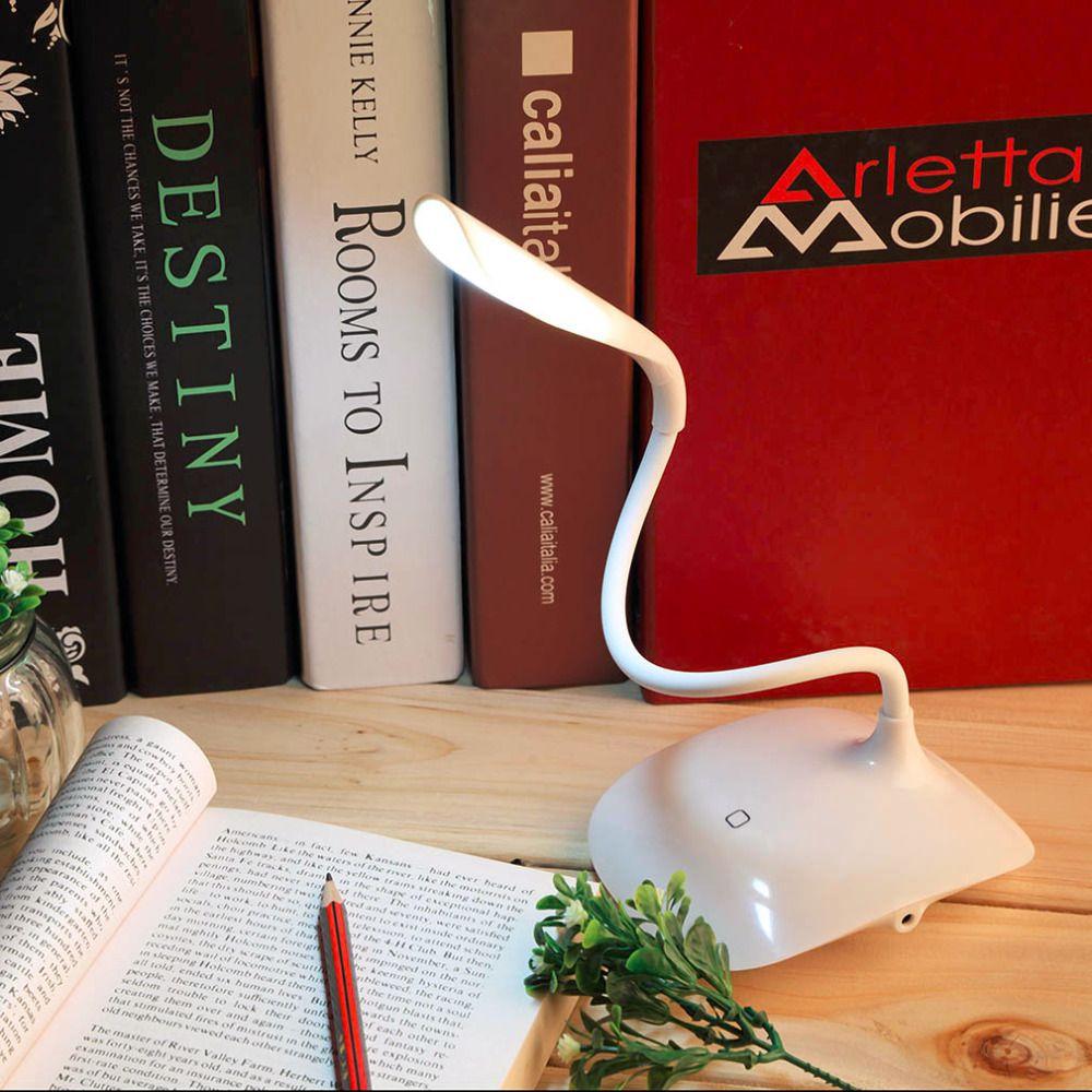 LED Schreibtischlampe Bureaul Einstellbare USB Wiederaufladbare Touch-Sensor FÜHRTE Leselampe Schreibtisch Tischlampe Kinder Lesen Nachtlicht