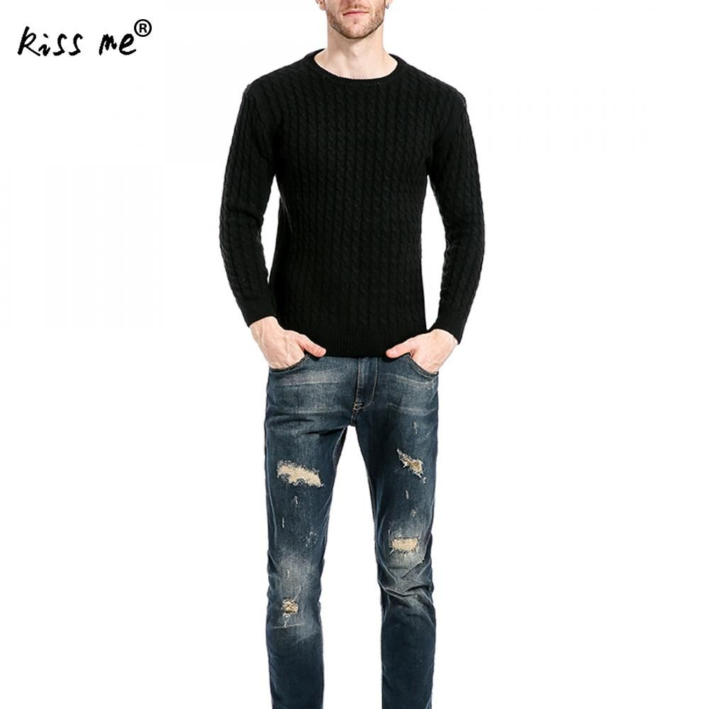2017 Mens Sweaters Pullovers O Neck Striped England Soild Link Style Fashion Men Sweaterhirts