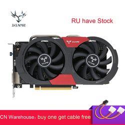 Красочные GTX 1050Ti видеокарта NVIDIA GeForce iGame GTX1050 Ti GPU 4 Гб GDDR5 128bit PCI-E 3,0 игровая видео карта плата смотри