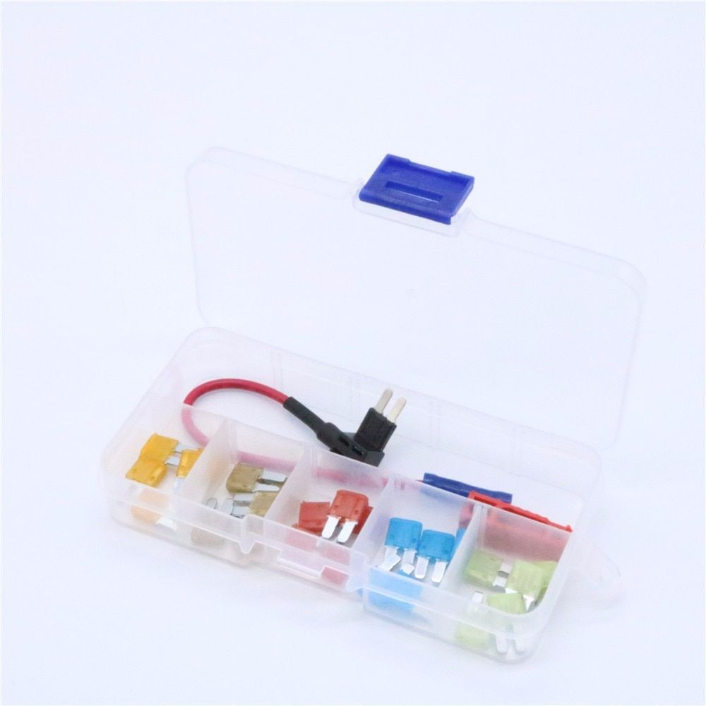 Add-A-Circuit Blade Style ATR Micro2 In-line Fuse Holder Fuse Tap Fuse Puller & Micro2 Fuse Set