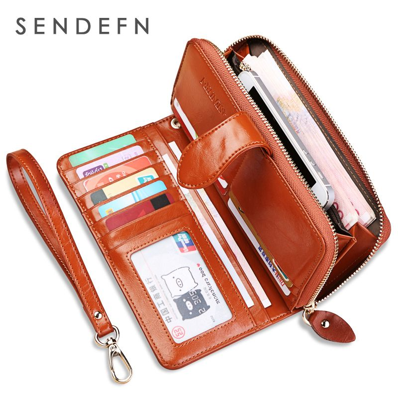 Hot Sale Wallet Brand Coin Purse Split Leather Women Wallet  Purse Wallet Female Card Holder Long Lady Clutch Carteira Feminina
