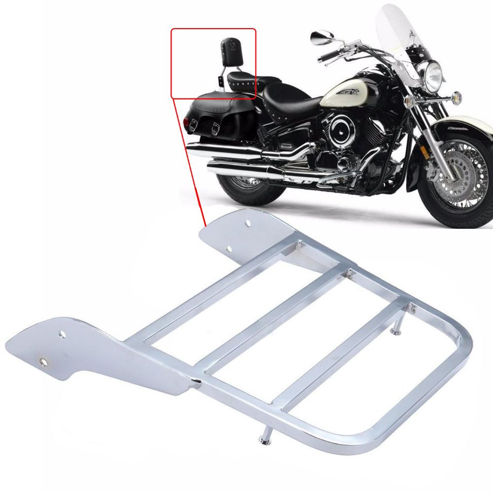 Motorcycle Sissy Bar Luggage Rack For Honda Shadow VT750 C2 1997-2003 VLX600 1999-2007 VT 750