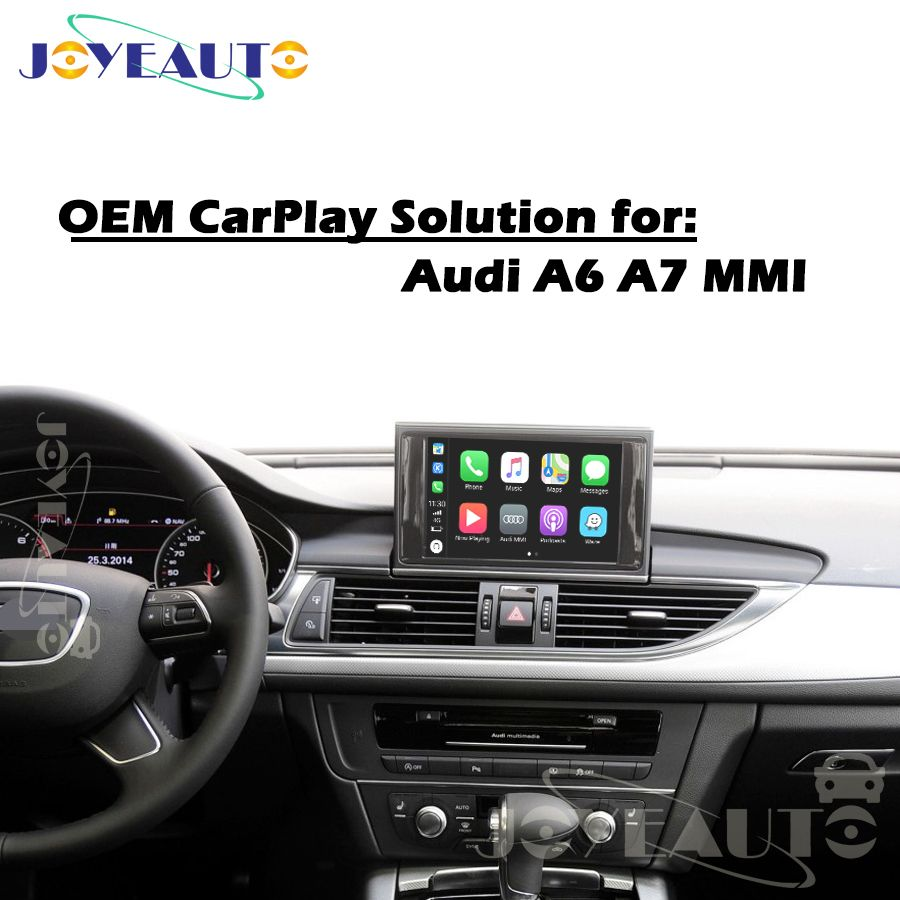 Aftermarket A6 A7 C7 MMI 3G MIB B9 OEM Apple Carplay Android Auto Upgrade 09-17MY IOS Airplay Auto Spielen retrofit für Audi