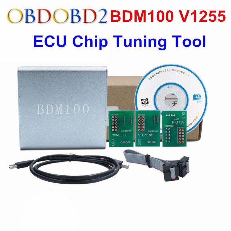 A+++Quality ECU Flasher BDM 100 ECU Programmer BDM100 ECU Chip Tuning Tool ECU Reader V1255 Free Shipping
