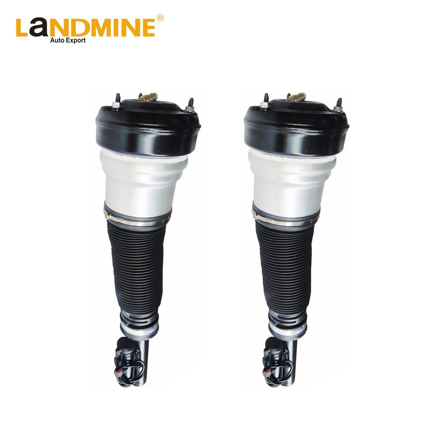 Free Shipping 2PCS Mercedes S Class W220 S430 S500 S55 Front Air Spring Suspension Air Shock Adjustable Air Ride 2203202438
