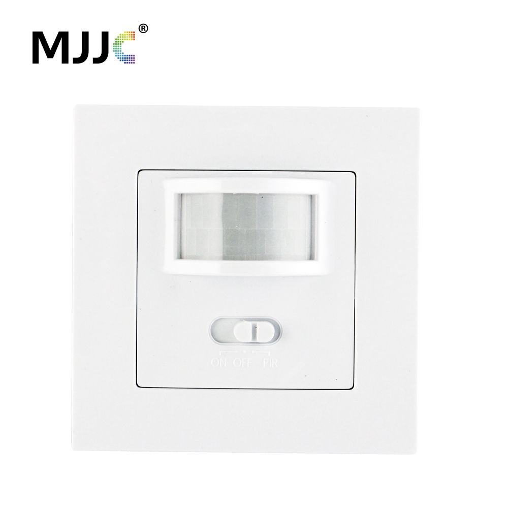 AC 110V 220V PIR Infrared Motion Sensor Wall Mounted Sensor Motion Light Switch ON/OFF Automatic Recessed For LED Lamp Bulbs