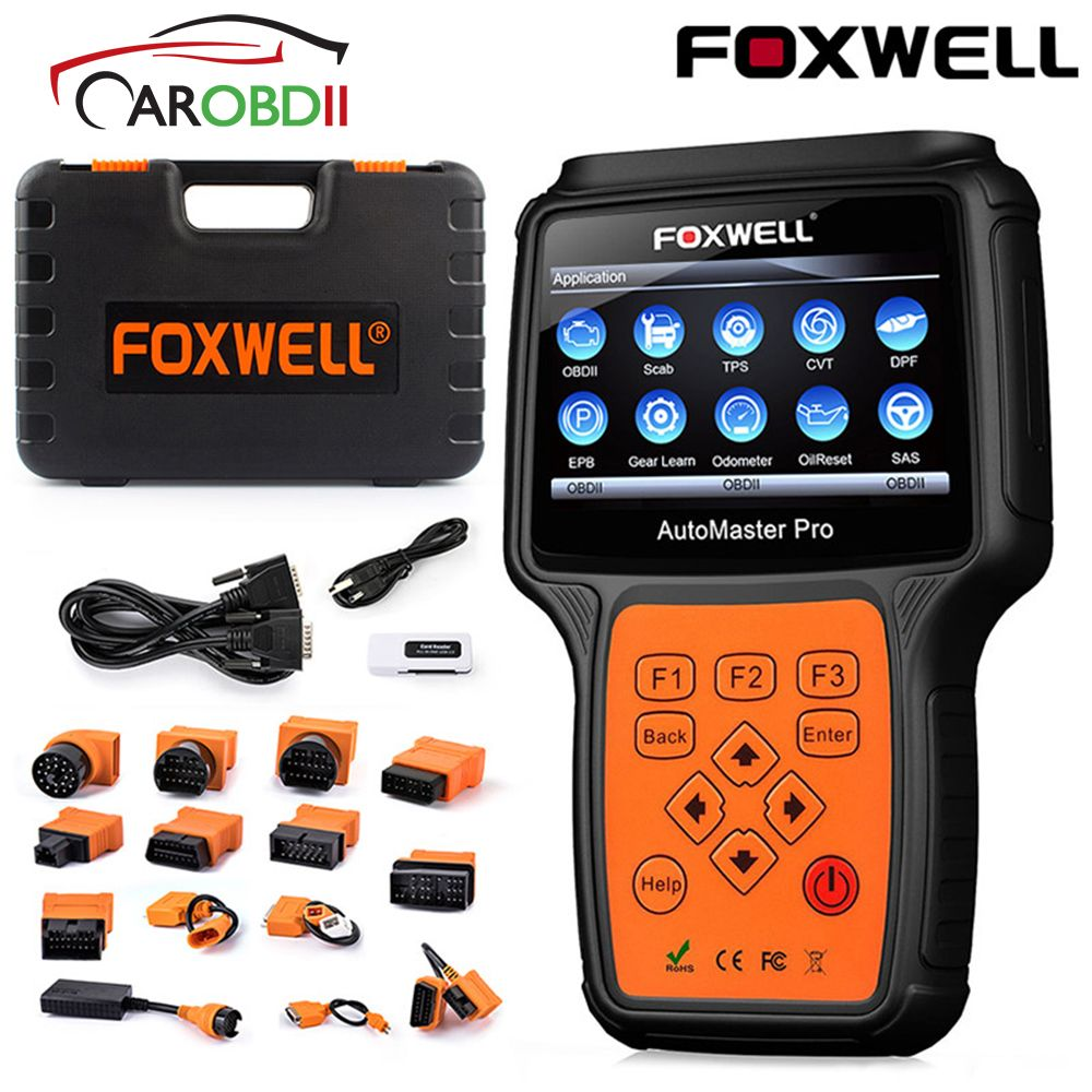 OBD2 Auto Auto Diagnose Werkzeug Foxwell NT644 Pro ABS Öl Reset TPMS TPS Airbag EPB DPF Multi-funktionale OBD 2 Automotive Scanner