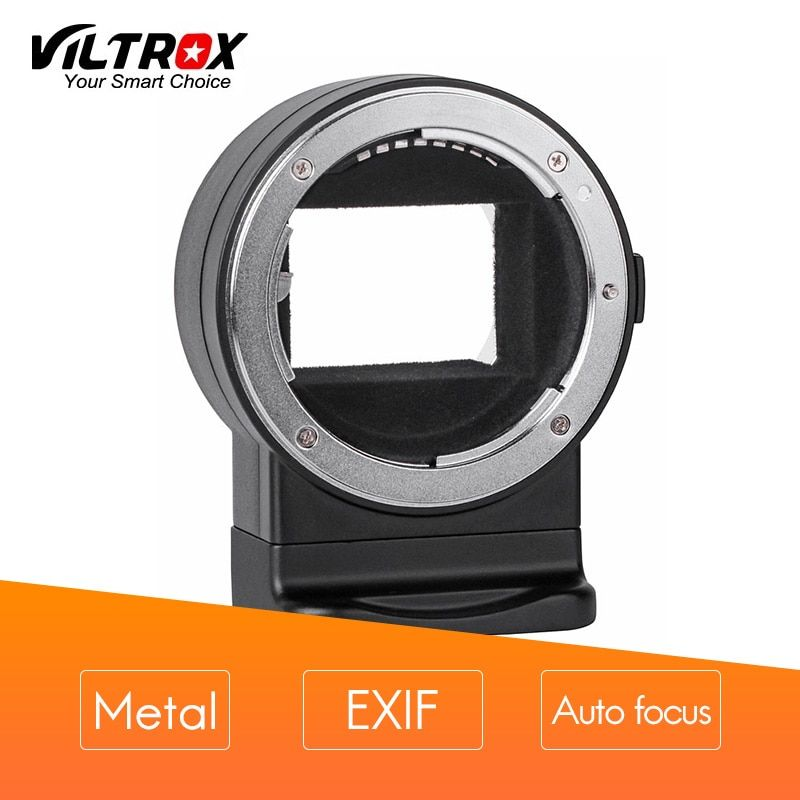 VILTROX Mount Adapter NF-E1 EXIF signal transmission Auto focus AF for Nikon F-mount lens to Sony E-mount A7II A6500 A6300camera