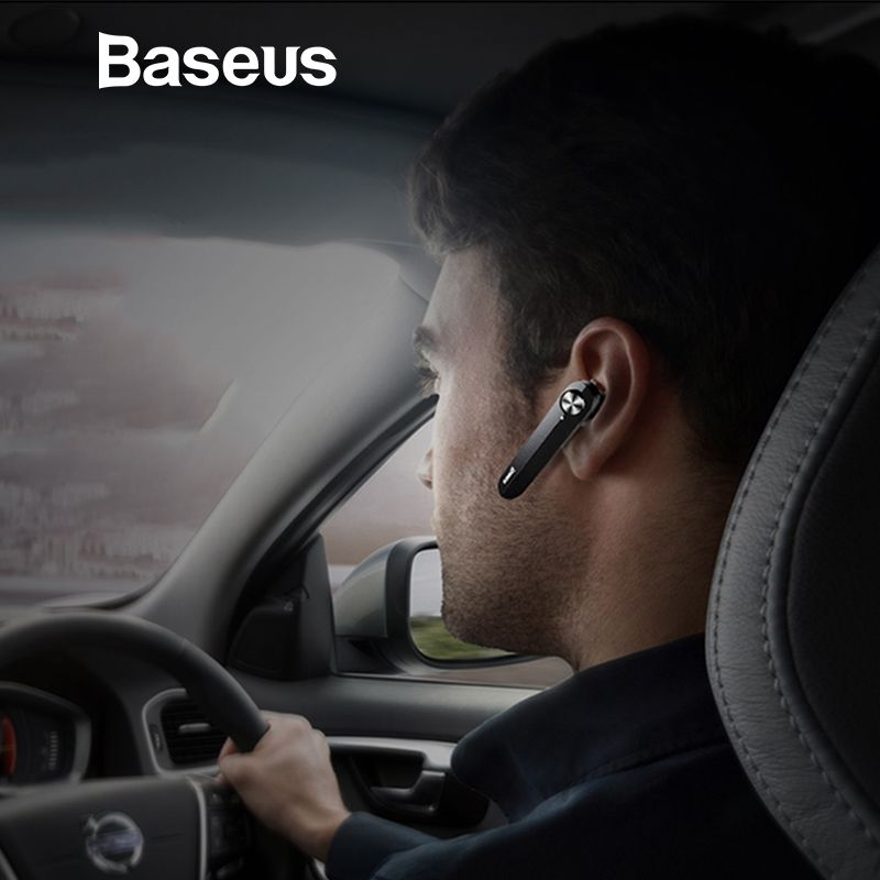 Baseus A01 Drahtlose Bluetooth Kopfhörer Mini Business Tragbare Kopfhörer Mit Mikrofon Für xiaomi iPhone Fahren Fone De Ouvido