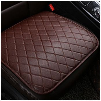 1x Non-slip PU Leather Car Seat Cover Pad for Auto Seat Cushion Protection Pad Mat