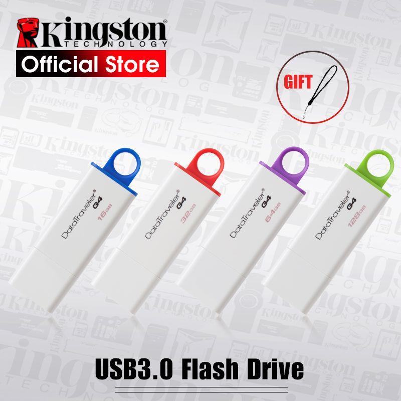 Kingston USB 3.0 DataTraveler G4 Flash Disque 16 gb/32 gb/64 gb/128 gb