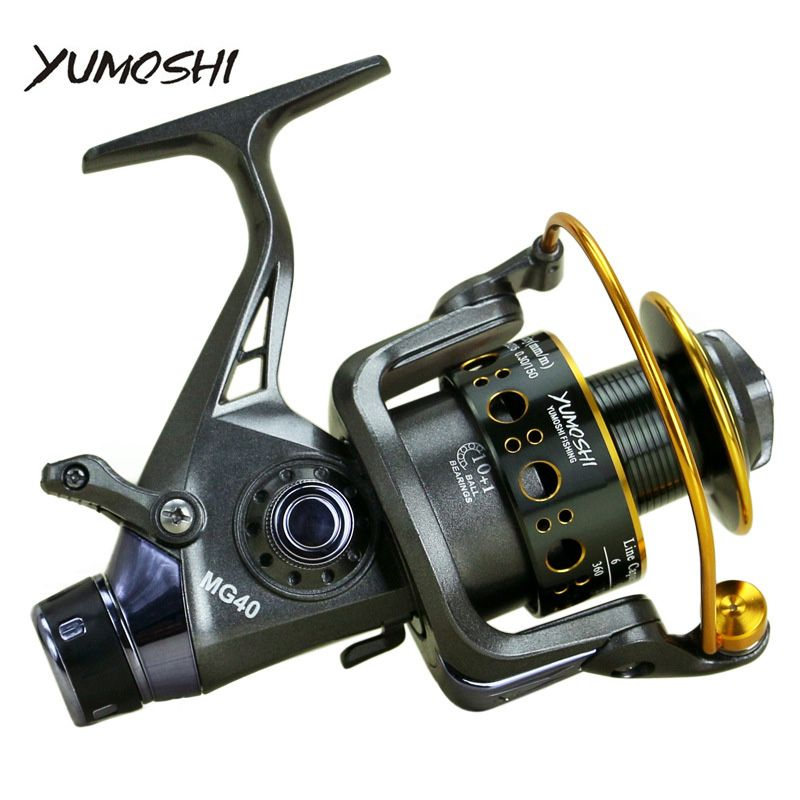 2018 New Double Brake Design Fishing Reel Super Strong Carp Fishing Feeder Spinning Reel Spinning wheel type fishing wheel MG