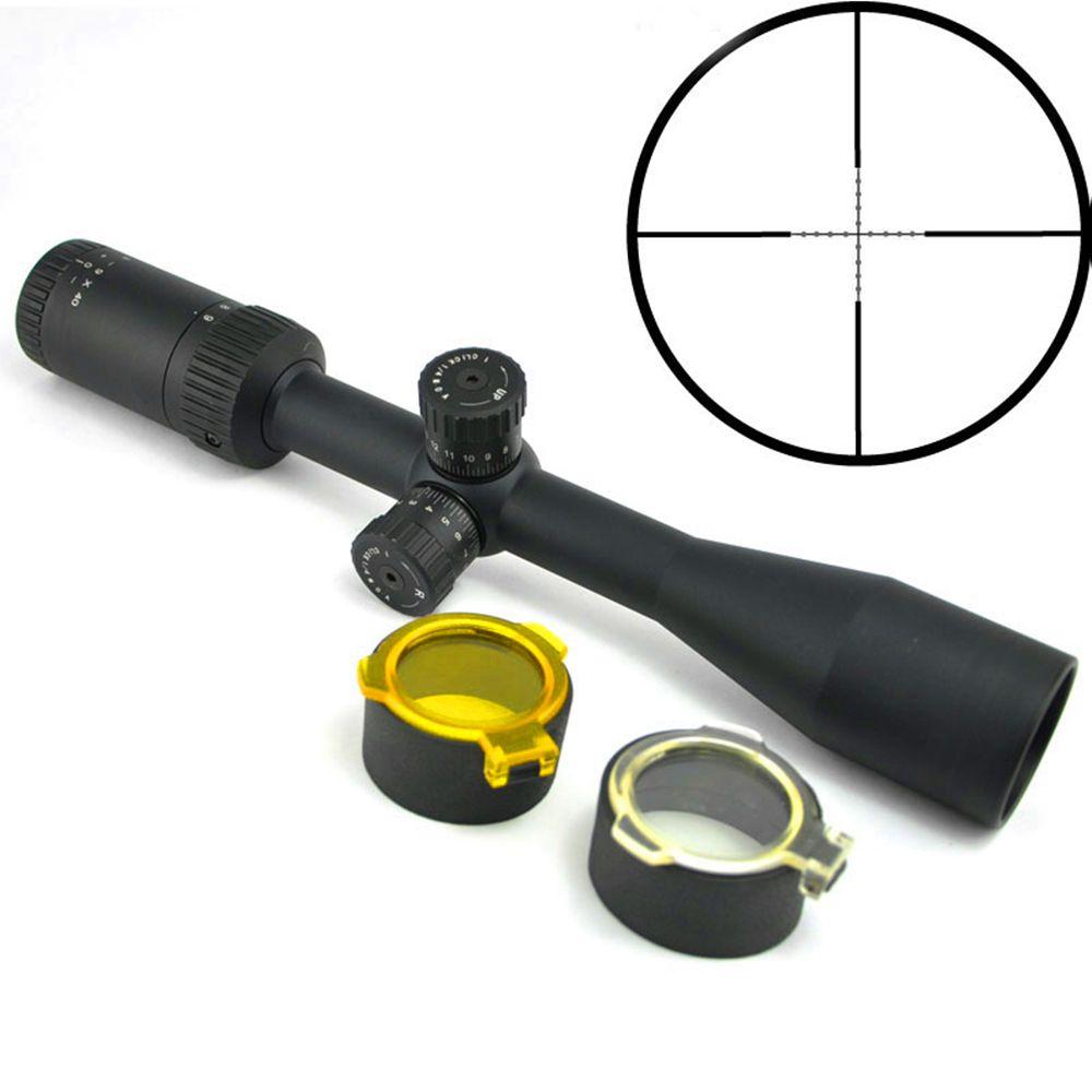 Visionking 3-9x40 прицел Оптические прицелы для цели Стрельба Охота область для винтовки 1 дюймов для AR15 M16 M4 беззеркальной в горошек сетка