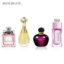 Maycrear 1 Unidades Original perfumado mujeres perfume atomizador botella de perfume de cristal señora flor fragancia perfumada marca