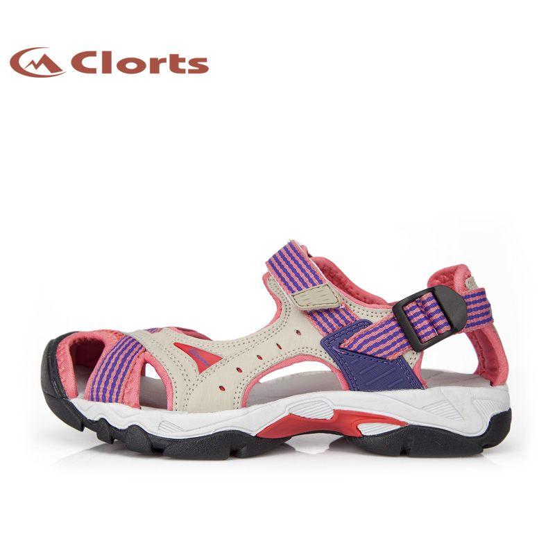 Clorts Women Sandal Beach Shoes Quick Dry Summer Shoes PU Aqua Water Shoes Wading Shoes SD-202A/B/C