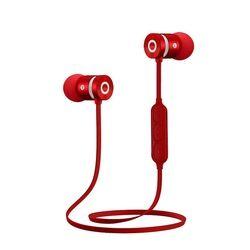 Logam Olahraga Earphone Bluetooth Headphone Keringat Bukti Magnetic Earpiece Stereo Headset Nirkabel untuk Ponsel untuk iPhone