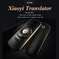 iFLYTEK Xiaoyi Wireless Portable Translator Voice Simultaneous Translation Spanish English French Korean Language For Travel