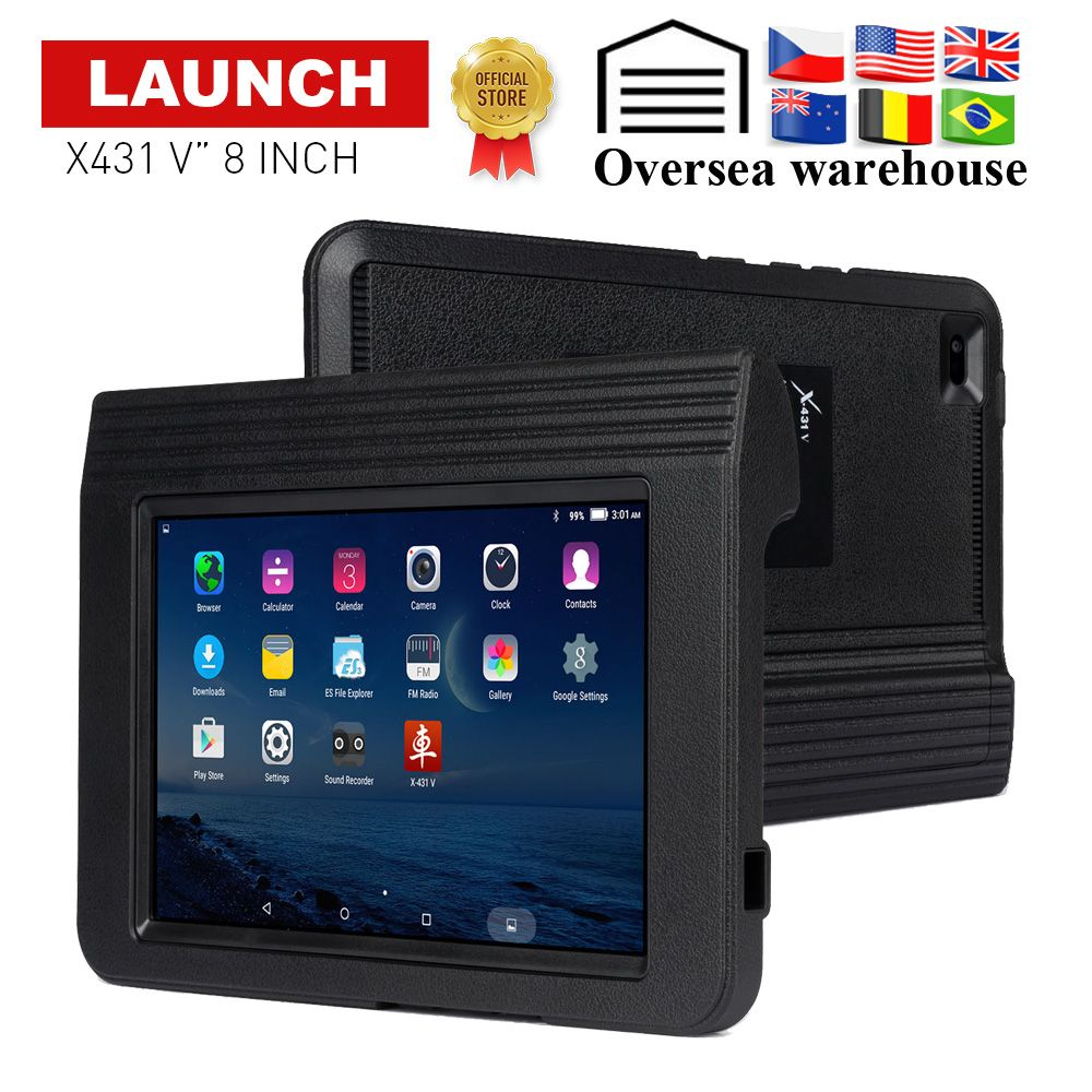 Launch X431 V 8 Full System Auto Diagnostic-Tool Support Bluetooth/Wifi 2 years update online OBD2 code reader X-431 V scanner