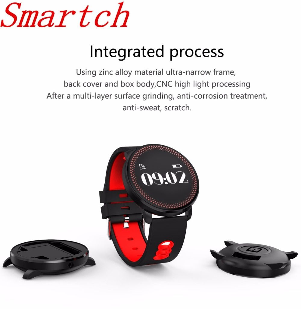 Smartch New SmartWatch CF007 Heart Rate Blood Oxygen Monitor Smart Watch Bracelet Fitness tracker For Android And IOS Smartphone