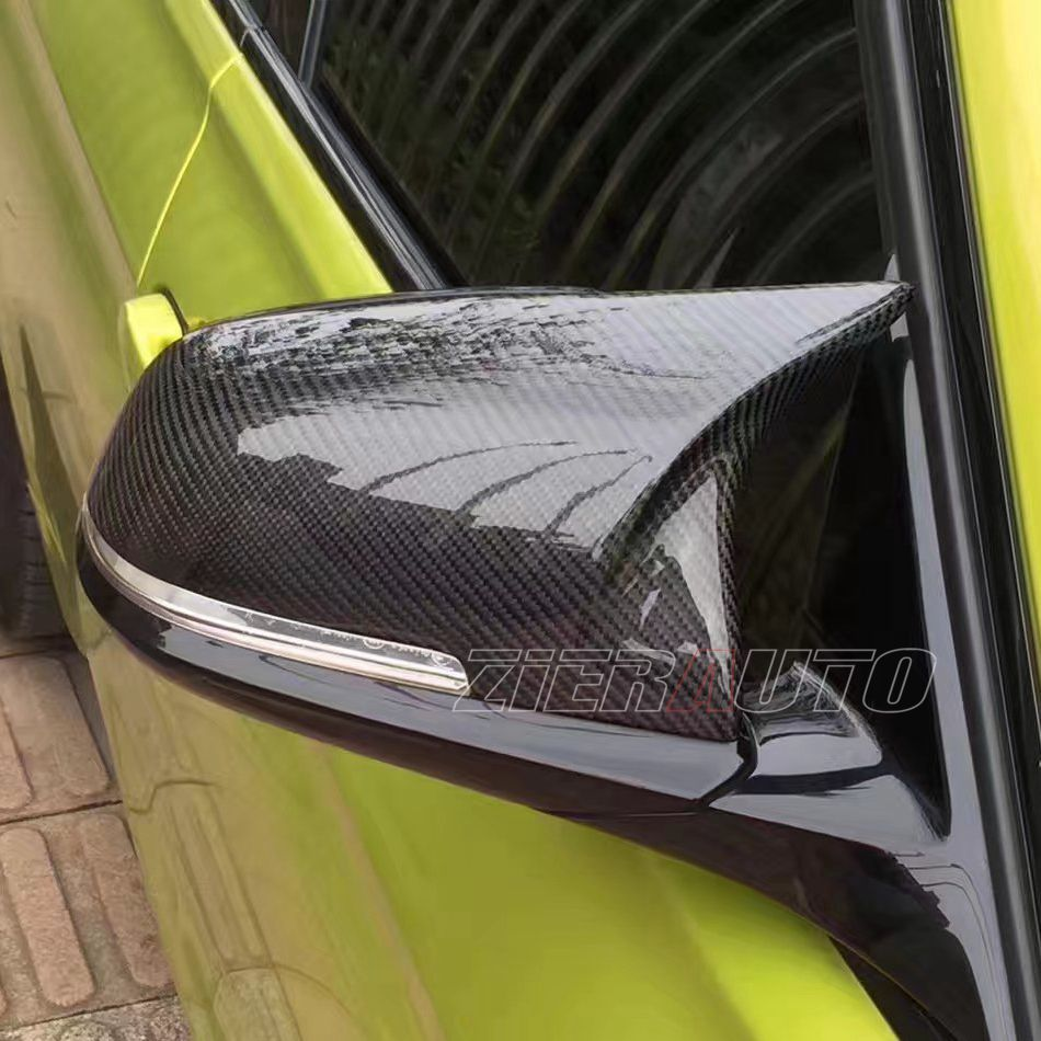 M-style Carbon mirror cover for BMW 1 2 3 4 X Serie F20 F21 F22 F23 F30 F31 F32 F33 F36 X1 E84 M3/M4 look Replacement