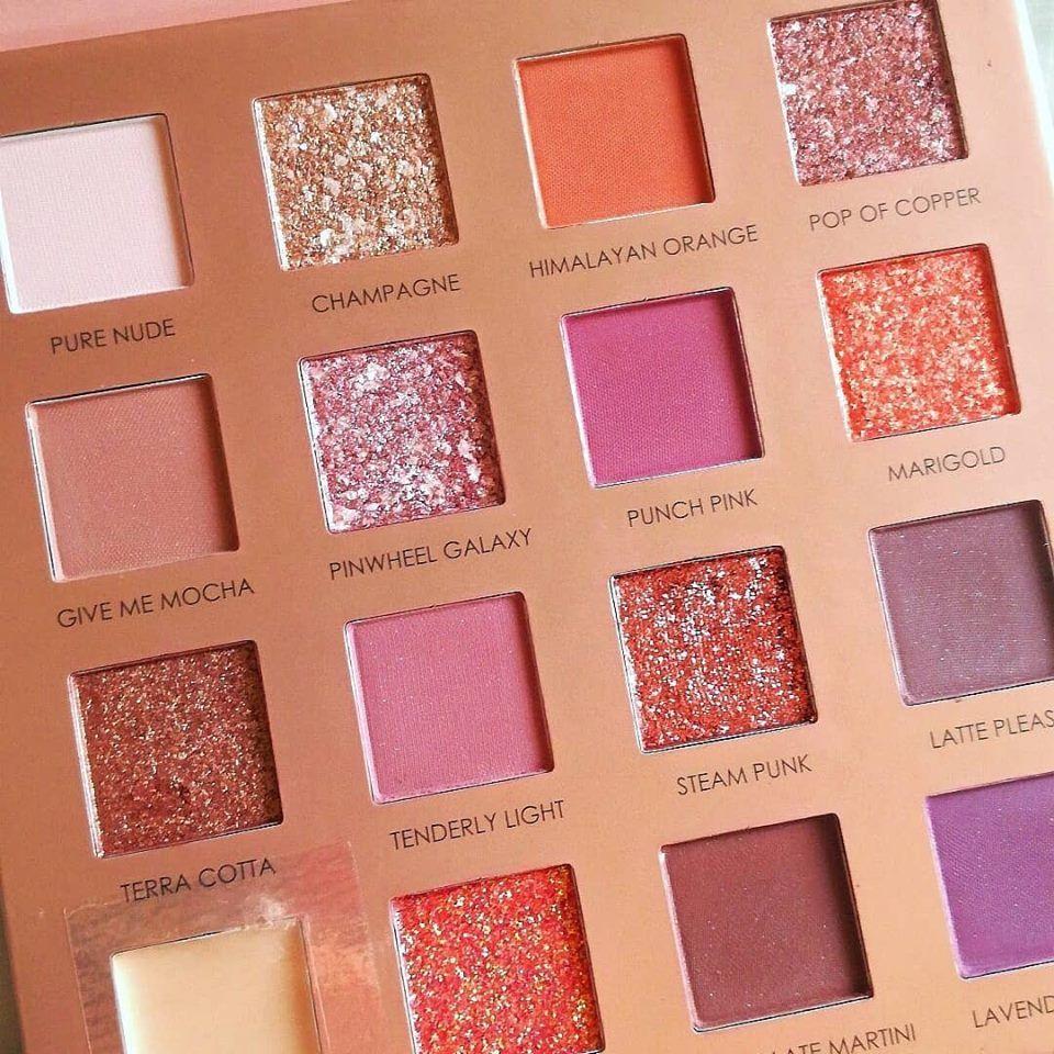 FOCALLURE New Sunrise Eye Shadow Palette Glitter Matte Pigment Eyeshadow Loose Powder Luxury Quality Eyeshadow