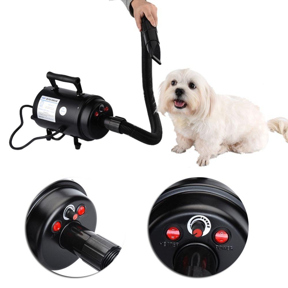 Собака сушилка 2-скорость ультра-тихий ПЭТ Уход за собакой фен 2800 Вт домашних животных главком ВВС Фен ЕС 220 В