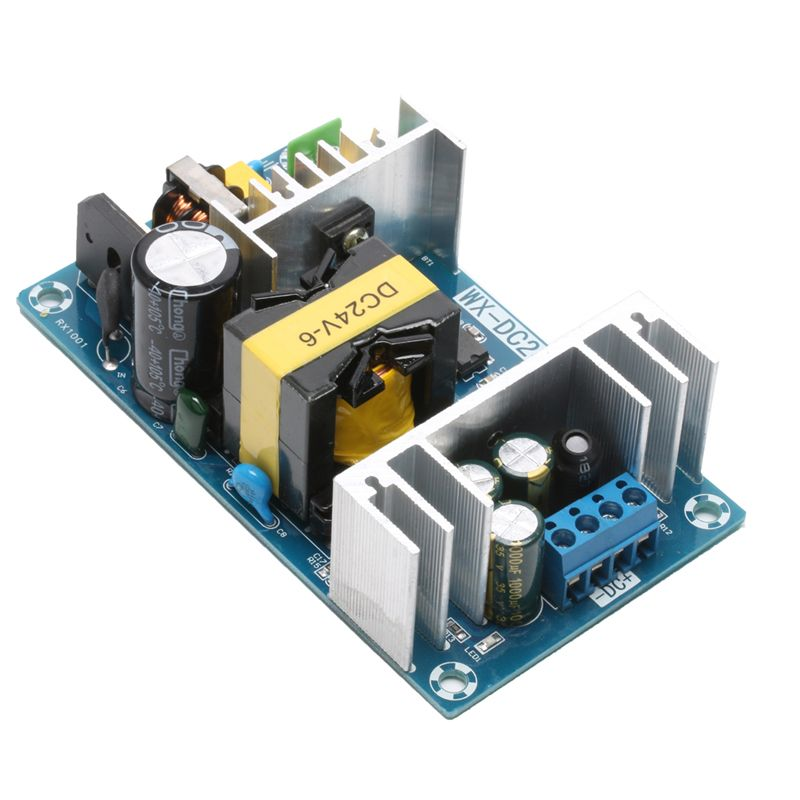 6A AC-DC Power Supply Module AC 100-240V to DC 24V Switching Power Supply Board