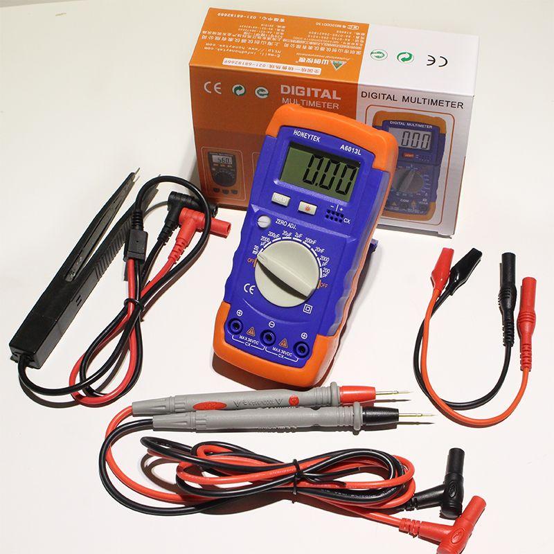 Mini Digital-Multimeter Widerstand Meter Kapazität Tester A6243L Induktivität Mini Digital-multimeter Kapazität Tester HEIßER!