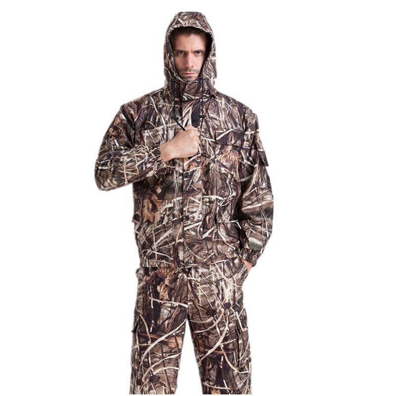 Großhandel MULTICAM Uniform Reed Bionic Camouflage Taktische Anzug Plus Größe Sniper Anzug Jagd Wasserdichte Kleidung 4XL AF25