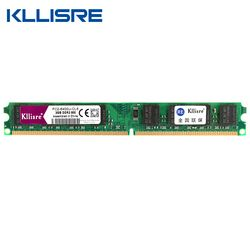 Kllisre DDR2 RAM 2 GB 800 667 MHz 240Pin Non-ECC Desktop Memori DIMM Baru