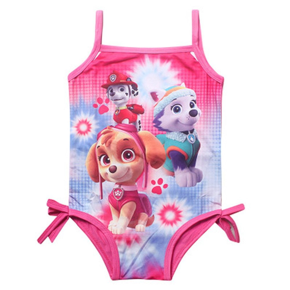Girl Kids Swimsuit Cartoon Bathing Suit Print Children Swimwear Bikini Tankini Baby Girl Summer Swimming Costume  CU934913