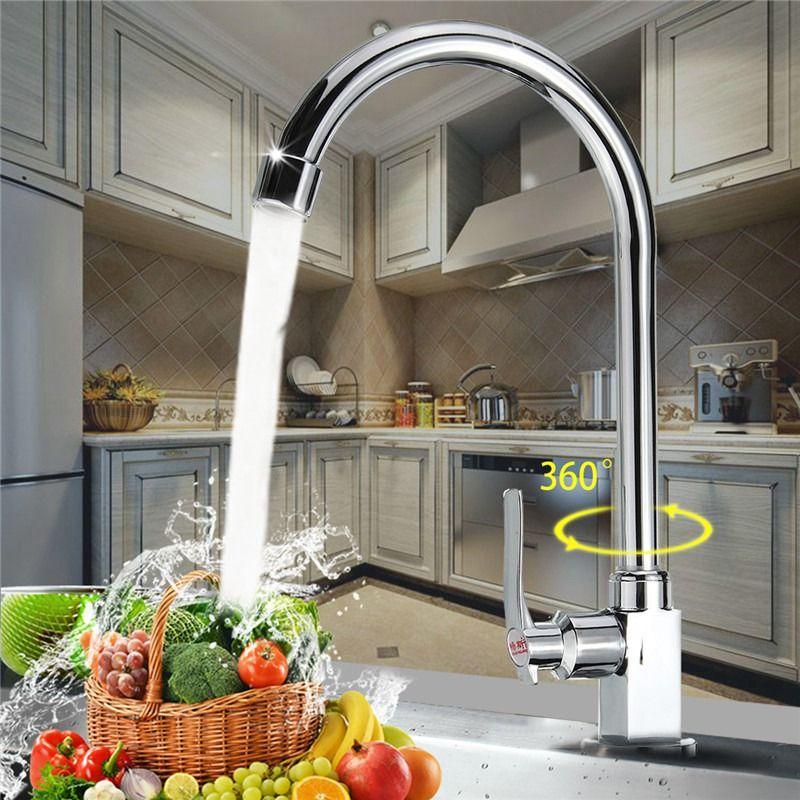 Сюэцинь Керамика Клапан цинковый сплав Кухня бассейна раковина, кран водопроводный кран Ванная комната Умывальник кран Одной холодной
