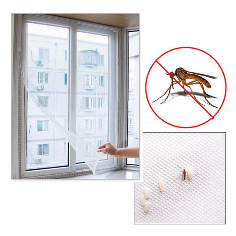 2 Mt * 1,5 Mt DIY Anti-moskitonetz selbstklebende Fliegengitter Vorhang Insektenschutz Moskito Bug Mesh Fenster-bildschirm Hause Versorgt