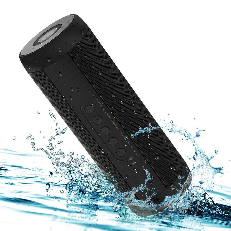 T2 Wireless Bluetooth Speakers Best Waterproof Portable Outdoor Loudspeaker Mini Column Box Speaker Design for iPhone Xiaomi