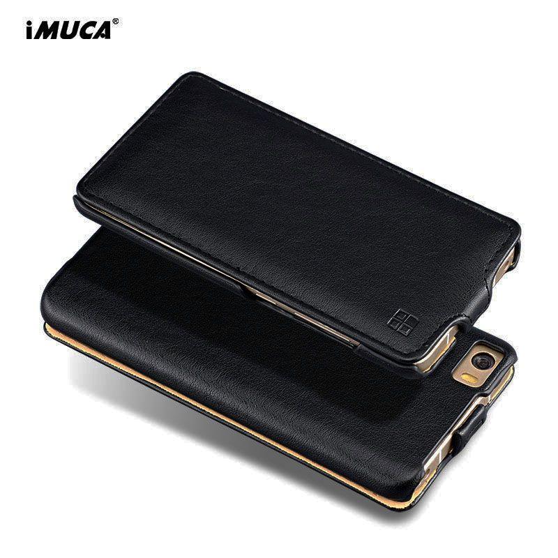 IMUCA Cas de Chiquenaude D'origine Pour Xiaomi Mi5 Housse Pour Xiaomi Mi 5 Cas Pro Premier De Luxe PU En Cuir De Protection Téléphone Sac couverture