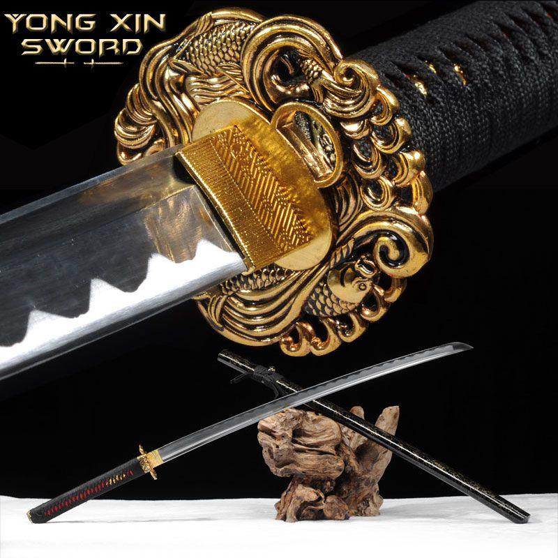 Samurai Tanto Messer Hohe 1060 Stahl Espada Katana Samurai Handgemachte Samurai Schwert Wand Montieren Samurai Katana Schwert Für Verkauf