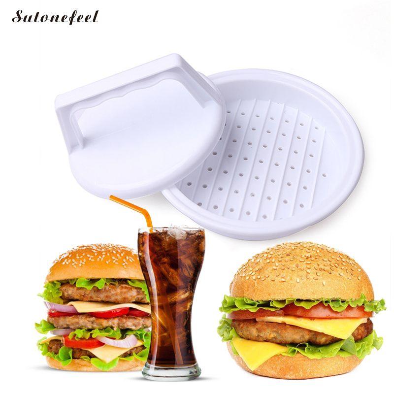 Sutonefeel гамбургер мясо плесень Burger чайник гамбургер Пресс плесень Котлетницы Кухня мяса птицы Инструменты