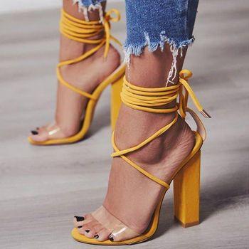 Femmes Pompes 2018 D'été Haute Talons Sandales PVC Transparent Femmes Talons De Mariage Chaussures Femmes Casual Étanche Sandalia Feminina