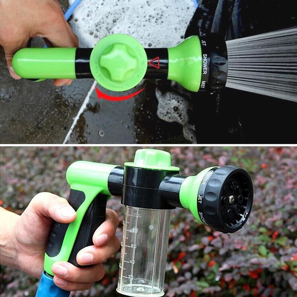 Pistolet à eau de Lance de mousse automatique Portable haute pression buse de qualité 3 Jet pulvérisateur de voiture outil de nettoyage outils de lavage d'automobiles