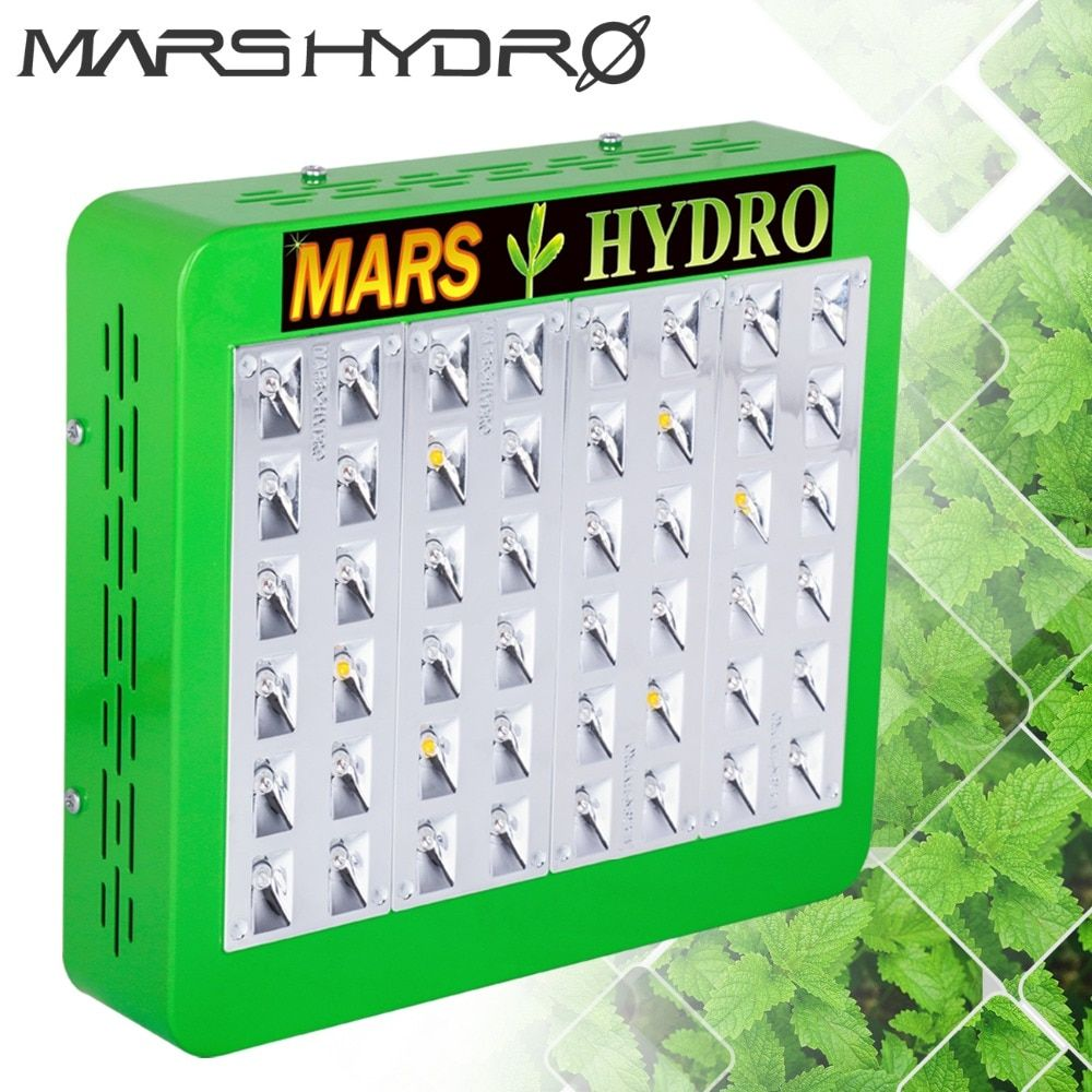 Mars Hydro LED Grow Light Reflector 240W Full Spectrum led lamp hydroponics Indoor Gardening 3 years warranty No Stock in RU