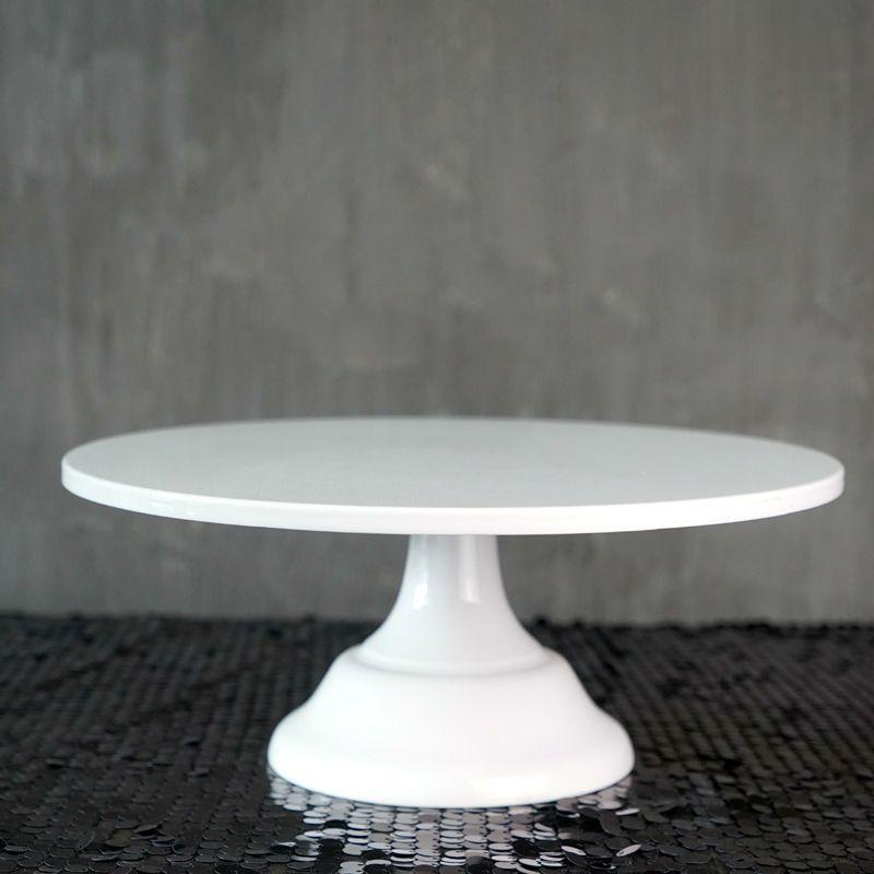Support de gâteau Grand boulanger SWEETGO 12 pouces outils de gâteau de mariage blanc fondant ustensiles de cuisson décoration de gâteau fournitures de table de dessert pops