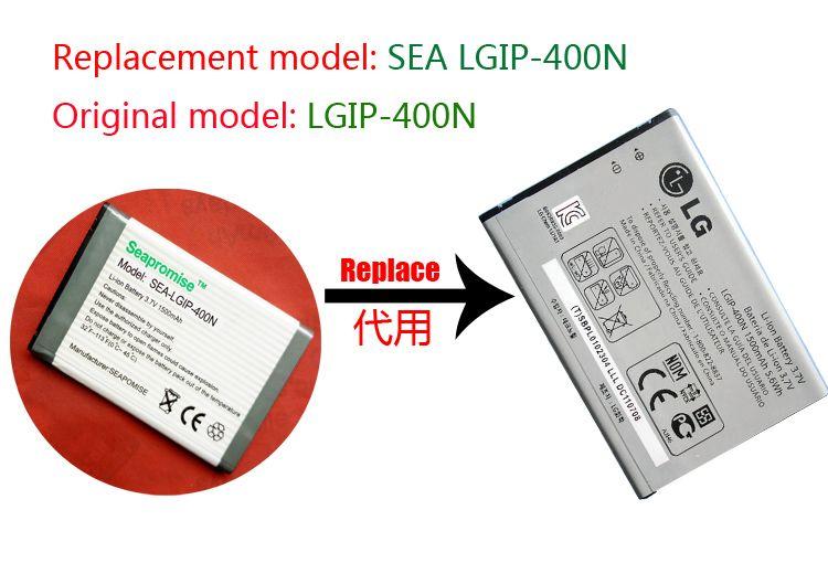 freeshipping retail LGIP-400N LGIP 400N LGIP400N battery for LG GX500.GM750,GT540,GT500S,p505,p506,LW690,us760,vm670.P500, P503