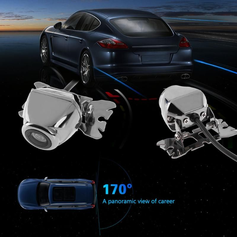 Universal Car Rear View Parking Camera HD Color Waterproof 170 Wide Angle Reverse Backup Drive Camera With Parking Line DC 12V